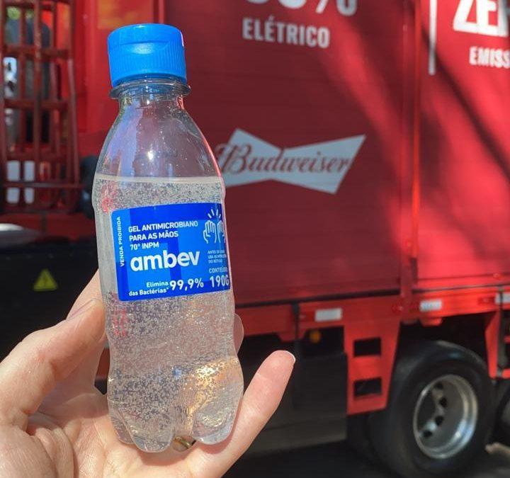 COVID-19: Rede pública de saúde de Santa Catarina receberá doação de álcool em gel da Ambev
