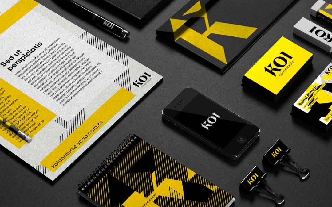Koi Comunicação lança nova identidade visual com campanha questionadora