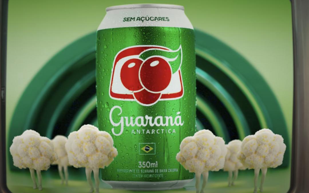 Guaraná Antarctica faz releitura pop de campanha icônica da década de 1990