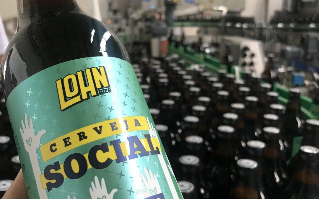 Lohn Bier e Bistek Supermercados lançam o rótulo #CervejaSocial para ajudar quem mais precisa durante a pandemia