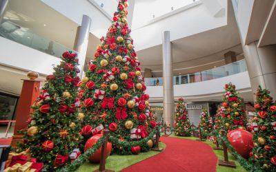 Shopping Itaguaçu amanhece com as cores e o clima natalino
