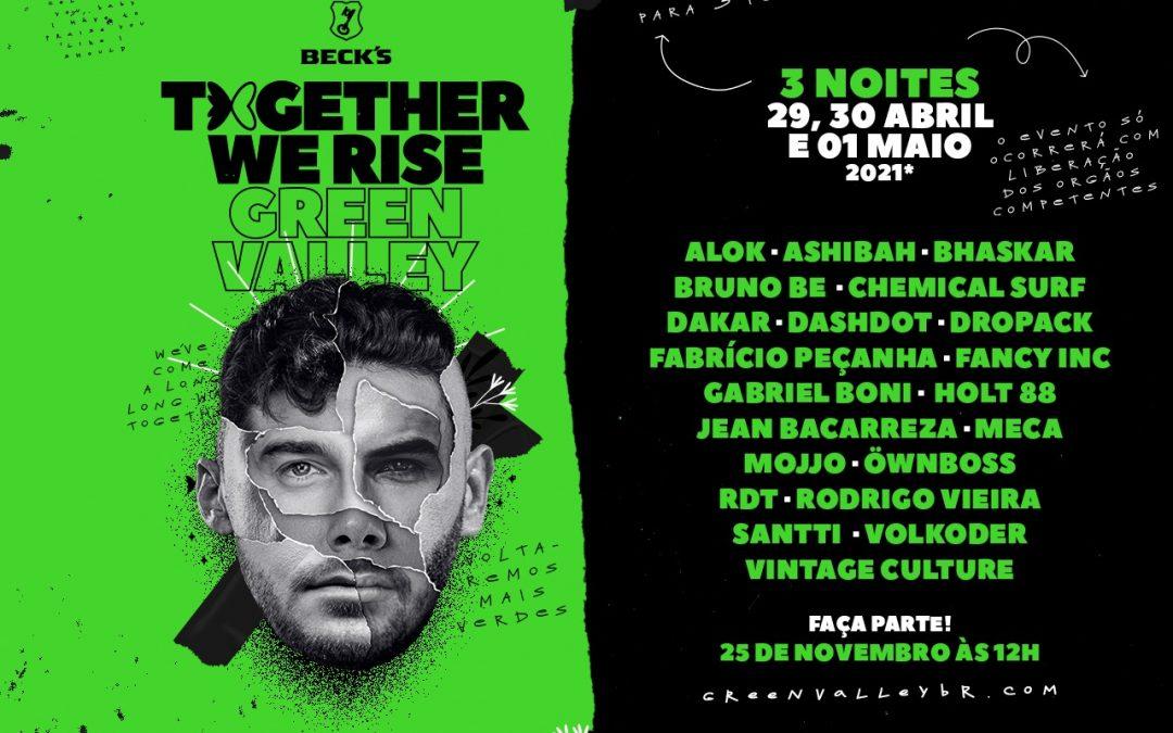 Together We Rise se transforma em evento para reconstruir o Green Valley