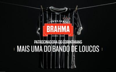Tem reforço na área! Brahma é a nova cerveja oficial do Corinthians