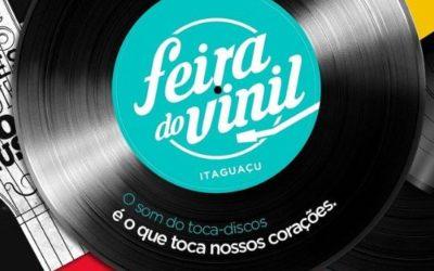 Feira do Vinil acontece neste final de semana no Shopping Itaguaçu