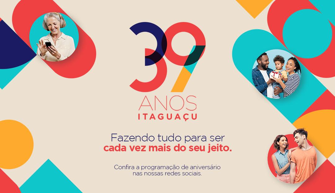 Shopping Itaguaçu celebra 39 anos com apresentações de música e humor