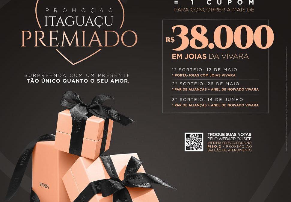 Shopping Itaguaçu promove campanha com prêmio superior a R$38 mil em joias Vivara