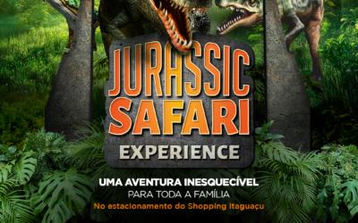 """""""Jurassic Safari"""" chega no Shopping Itaguaçu"""