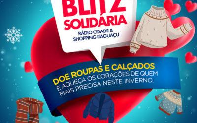 Shopping Itaguaçu realiza a campanha do agasalho em parceria com a Blitz Solidária