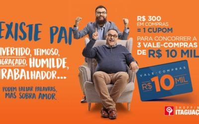 Campanha de Dia dos Pais do Shopping Itaguaçu inicia nesta sexta, dia 16